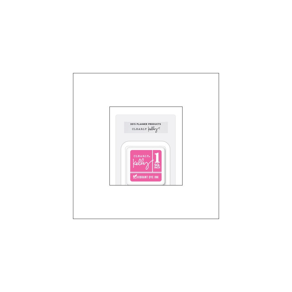 Hero Arts Square Dye Ink Cube Hot Pink Kellys Fashion Planner 2015 Planner Products Collection by Kelly Purkey