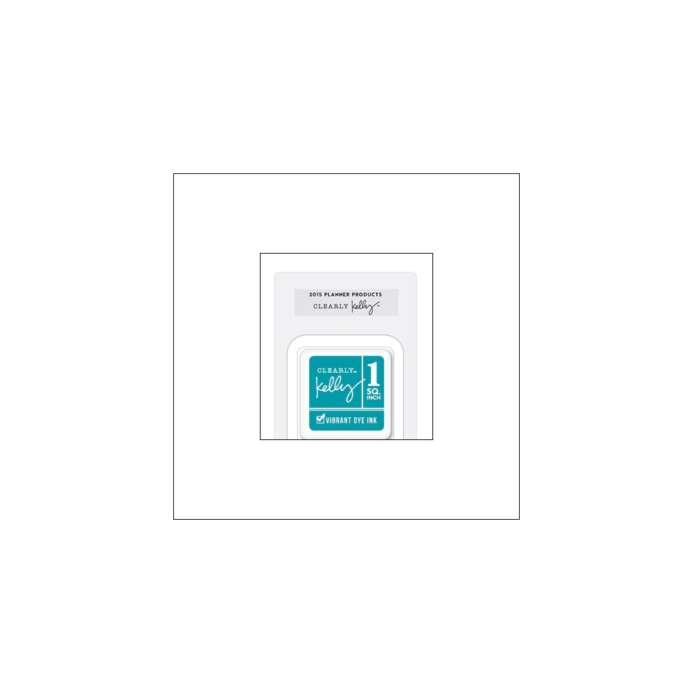 Hero Arts Square Dye Ink Cube Teal Kellys Outdoor Planner 2015 Planner Products Collection by Kelly Purkey