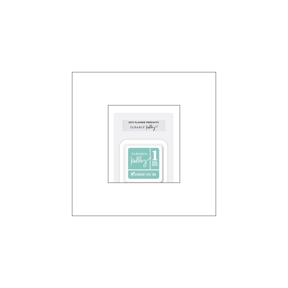 Hero Arts Square Dye Ink Cube Mint Kellys Urban Planner 2015 Planner Products Collection by Kelly Purkey