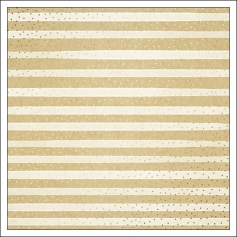 American Crafts Specialty Paper Kraft Sheet Gold Foil Dots One In A Million Finders Keepers Collection by Amy Tangerine