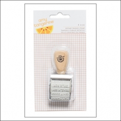 American Crafts Rotary Phrase Stamp Finders Keepers Collection by Amy Tangerine