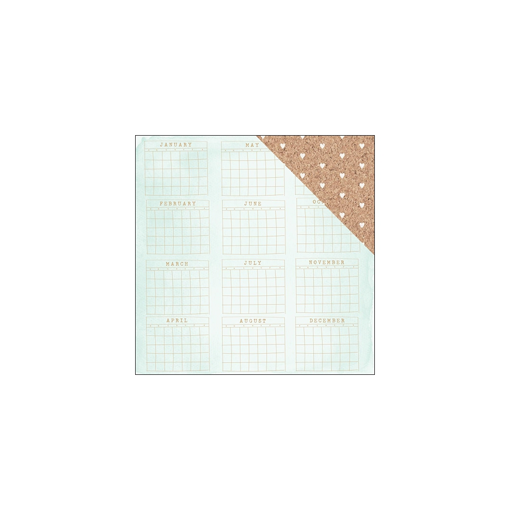American Crafts Paper Sheet New Day Documentary Collection by Dear Lizzy