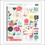 American Crafts Accent and Phrase Stickers Documentary Collection by Dear Lizzy