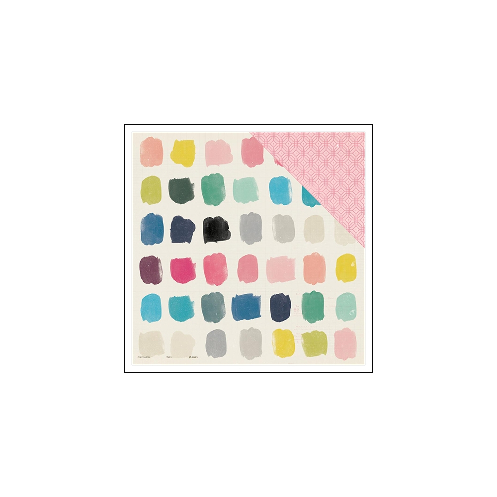 Crate Paper Paper Sheet Carefree Shine Collection by Maggie Holmes