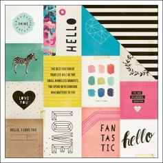 Crate Paper Paper Sheet Bright Shine Collection by Maggie Holmes
