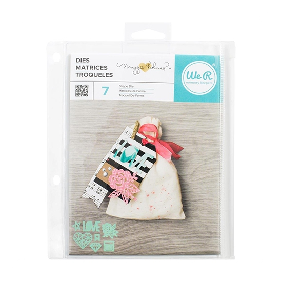 Crate Paper Die Cutting Set Shine Collection by Maggie Holmes