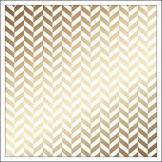 American Crafts Specialty Paper Transparent Sheet Gold Foil Herringbone DIY Shop 3 Collection
