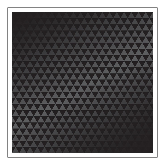 American Crafts Specialty Paper Sheet Spot Varnish Black Triangles DIY Shop 3 Collection