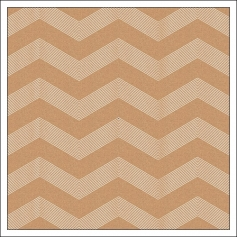 American Crafts Paper Sheet Kraft White Chevron DIY Shop 3 Collection