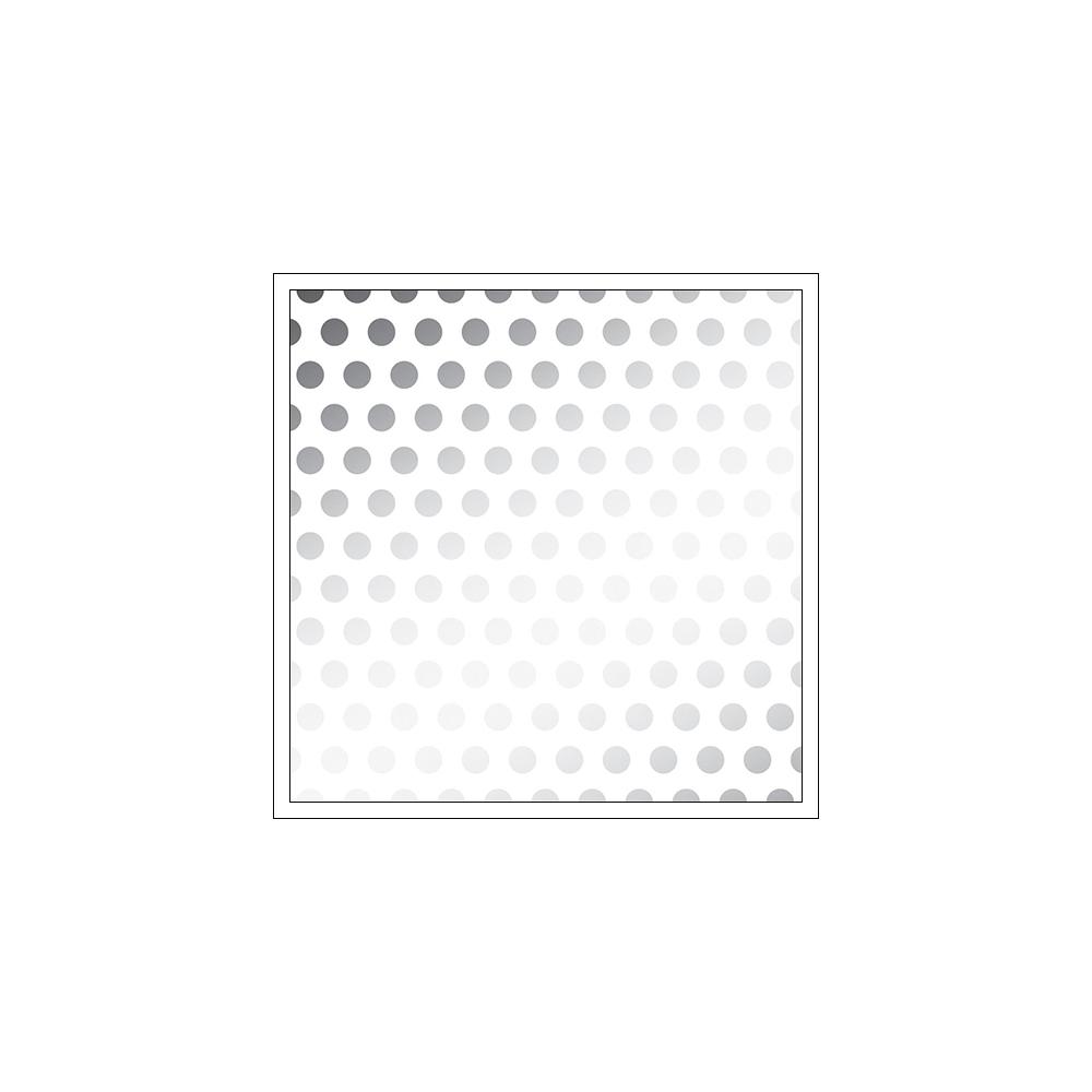 American Crafts Vellum Paper Sheet Silver Foil Dots DIY Shop 3 Collection