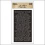 Advantus Small Talk Cardstock Sticker Sheet Black by Tim Holtz Idea-ology