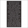 Advantus Small Talk Cardstock Sticker Sheet Black Accasions by Tim Holtz Idea-ology
