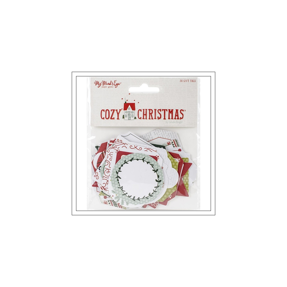 My Minds Eye Gift Tags Cozy Christmas Collection by Celeste Knight