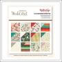 My Minds Eye Paper Pad 6x6 Specialty Gold Foil Finish Christmas On Market Street Collection by Jen Allyson