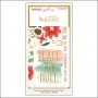 My Minds Eye Journaling Cards Gold Foil Accents Christmas on Market Street Collection by Jen Allyson
