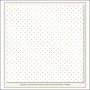 My Minds Eye Specialty Vellum Paper Gold Foil Dots Shining Stars Christmas on Market Street Collection by Jen Allyson