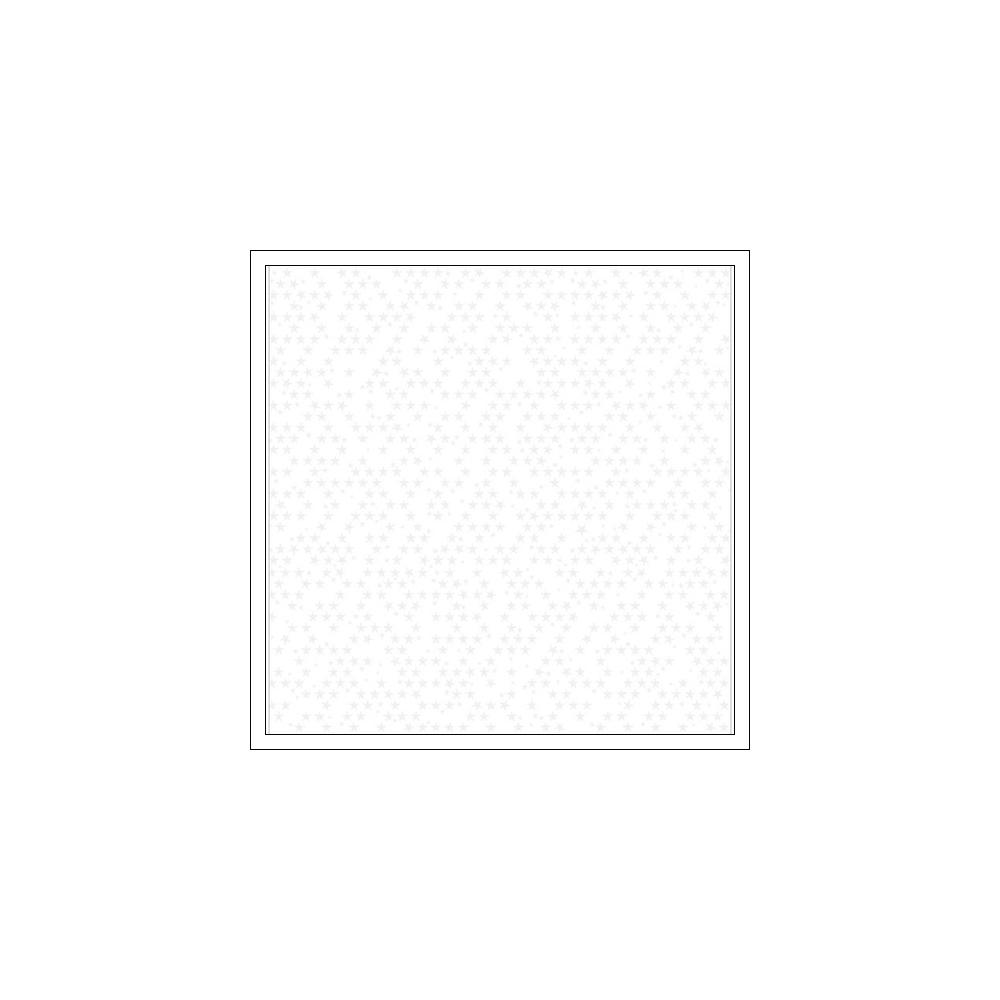 Bella Blvd Transparency Sheet Clear Cut White Stars Clear Cuts