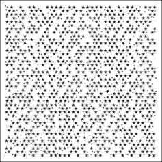 Bella Blvd Transparency Sheet Clear Cuts Black Stars Clear Cuts