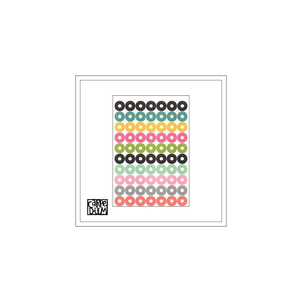 Simple Stories Sticker Sheet Hole Reinforcers Carpe Diem Planner Collection