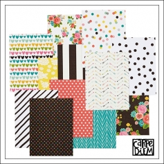 Simple Stories Washi Paper Tape Sheets 3 x 4 inches Carpe Diem Planner Collection