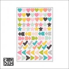 Simple Stories Icon Stickers Carpe Diem Planner Collection