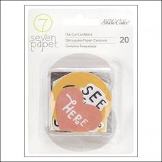 Studio Calico Cardstock Die Cut Pieces Seven Paper Elliot Collection