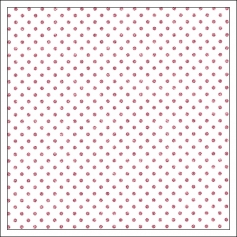 Crate Paper Specialty Paper Acetate Sheet Pink Glitter Dots Kiss Me Hello Love Collection