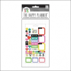 Me and My Big Sticker Sheet Everyday Reminder The Happy Planner Collection