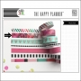 Me and My Big Washi Tape Roll Flowers Peony The Happy Planner Collection