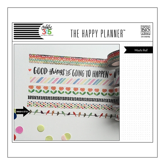 Me and My Big Washi Tape Roll Birds Good Things Are Going To Happen The Happy Planner Collection