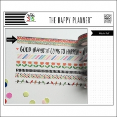 Me and My Big Washi Tape Roll Colorful Zig Zag Good Things Are Going To Happen The Happy Planner Collection