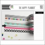 Me and My Big Washi Tape Roll Black and White Stripes My Life The Happy Planner Collection
