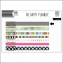 Me and My Big Washi Tape Roll Black and White Horizontal Stripes My Life The Happy Planner Collection