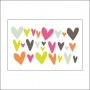 Studio Calico Vellum Hearts Seven Paper Baxter Collection