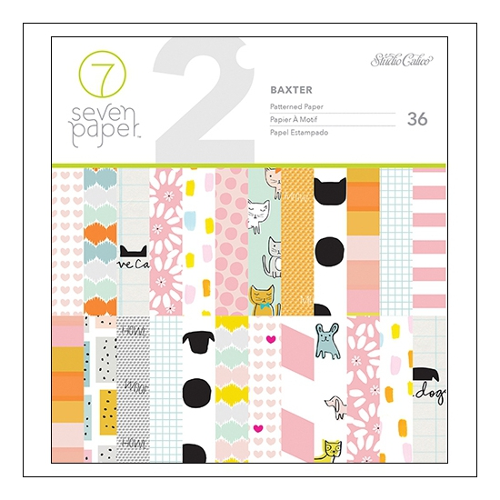 Studio Calico Paper Pad 6x6 Baxter Collection