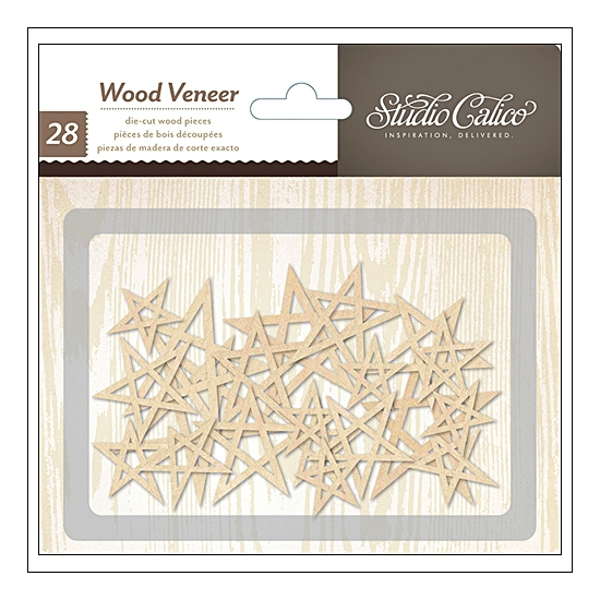 Studio Calico Wood Veneer Stars Printshop Collection