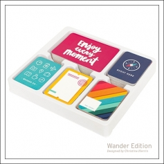 American Crafts Project Life Suggested Placement Cards [first page] Wander Edition Collection by Christine Herrin
