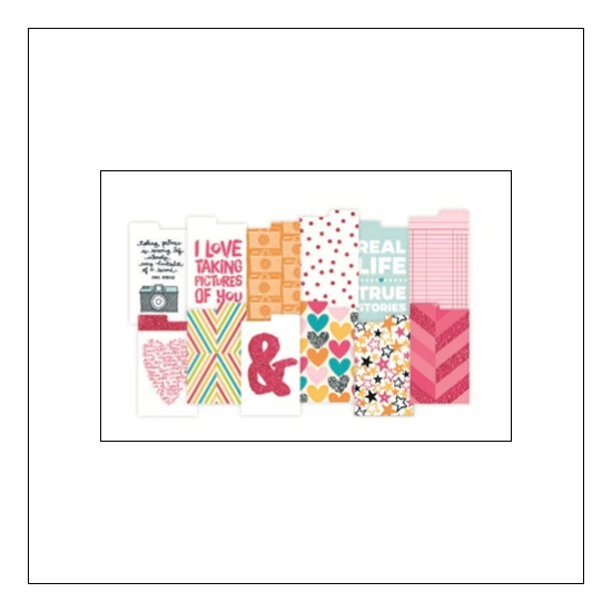 American Crafts Project Life Dividers Instax Mini Kiwi Edition