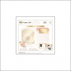 American Crafts Project Life Instax Mini Golden Edition Value Pack