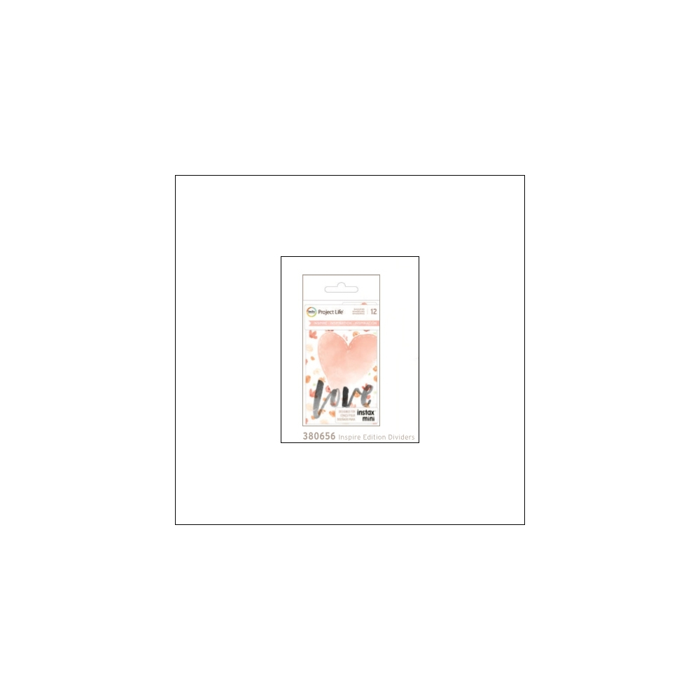 American Crafts Project Life Dividers Instax Mini Inspire Edition