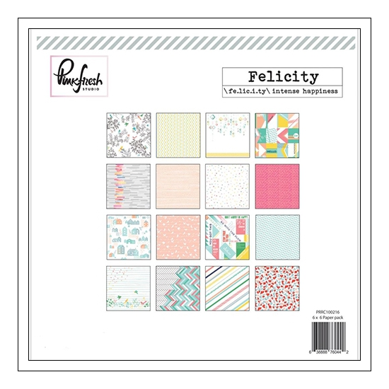 Pinkfresh Studio Paper Pack 6x6 Felicity Collection