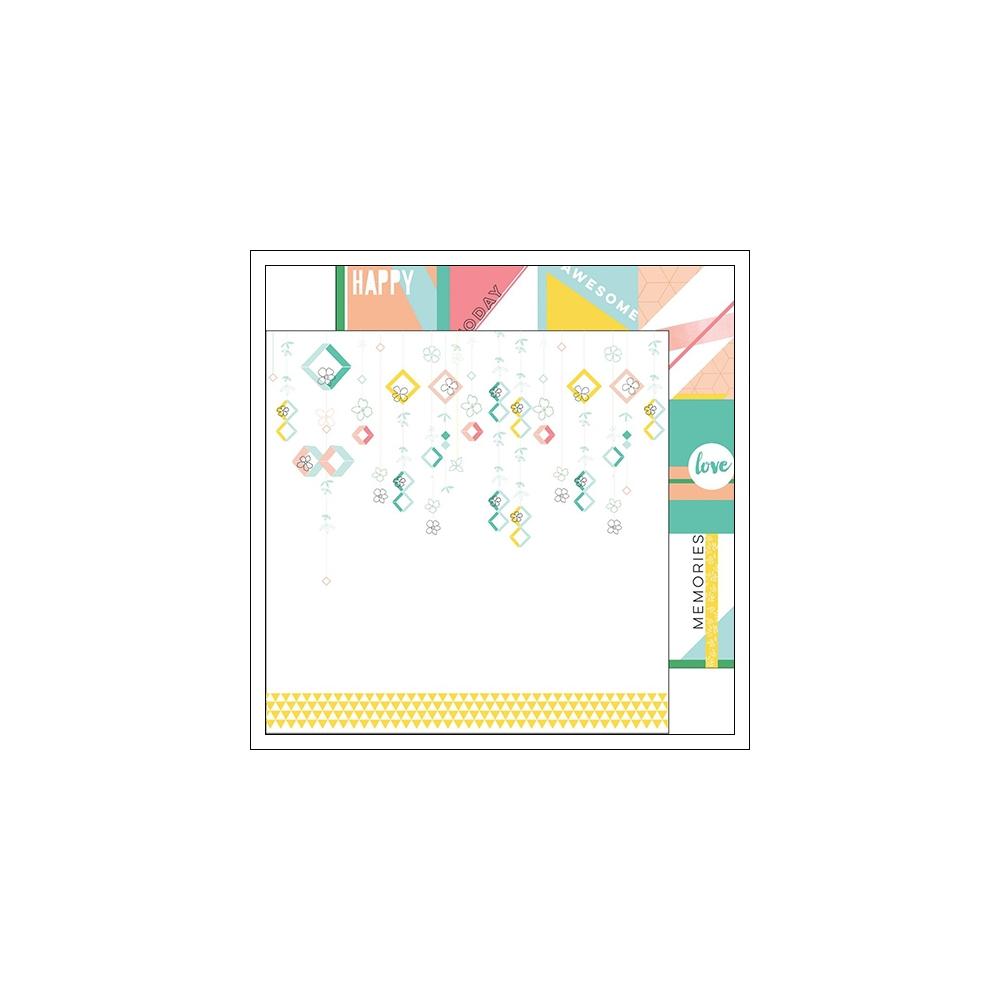 Pinkfresh Studio Paper Sheet Flower Strings Felicity Collection