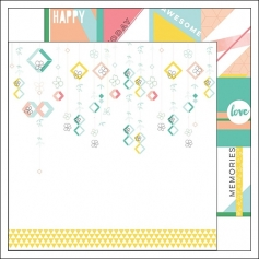 Pinkfresh Studio Paper Sheet Flower Strings Felicity Collection