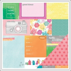 American Crafts Paper Currently Yes Please Collection by Amy Tangerine
