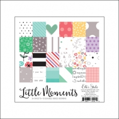 Elles Studio Paper Stack Sheets 6x6 Little Moments Collection