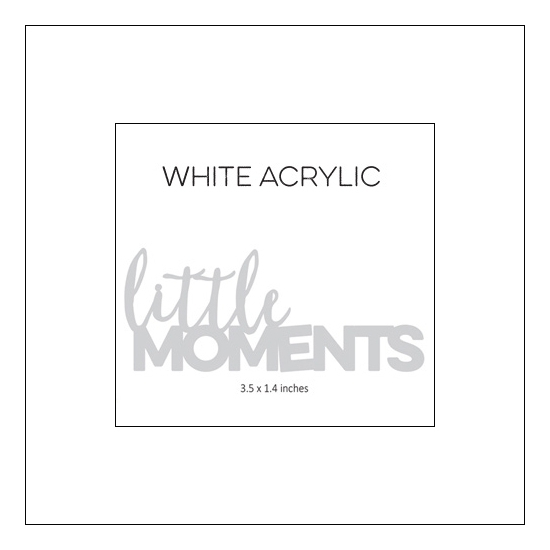 Elles Studio Little Moments Acrylic Little Moments Collection