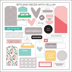 Elles Studio Bits and Pieces Little Moments Collection