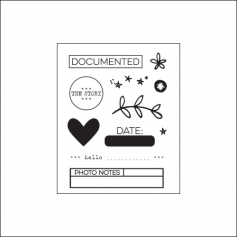 Elles Studio Clear Stamps Little Moments Collection