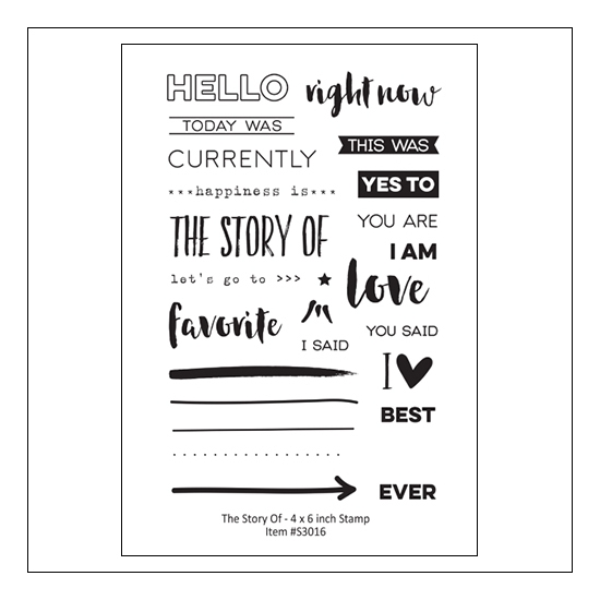Elles Studio Clear Stamps The Story Of Stamps Little Moments Collection