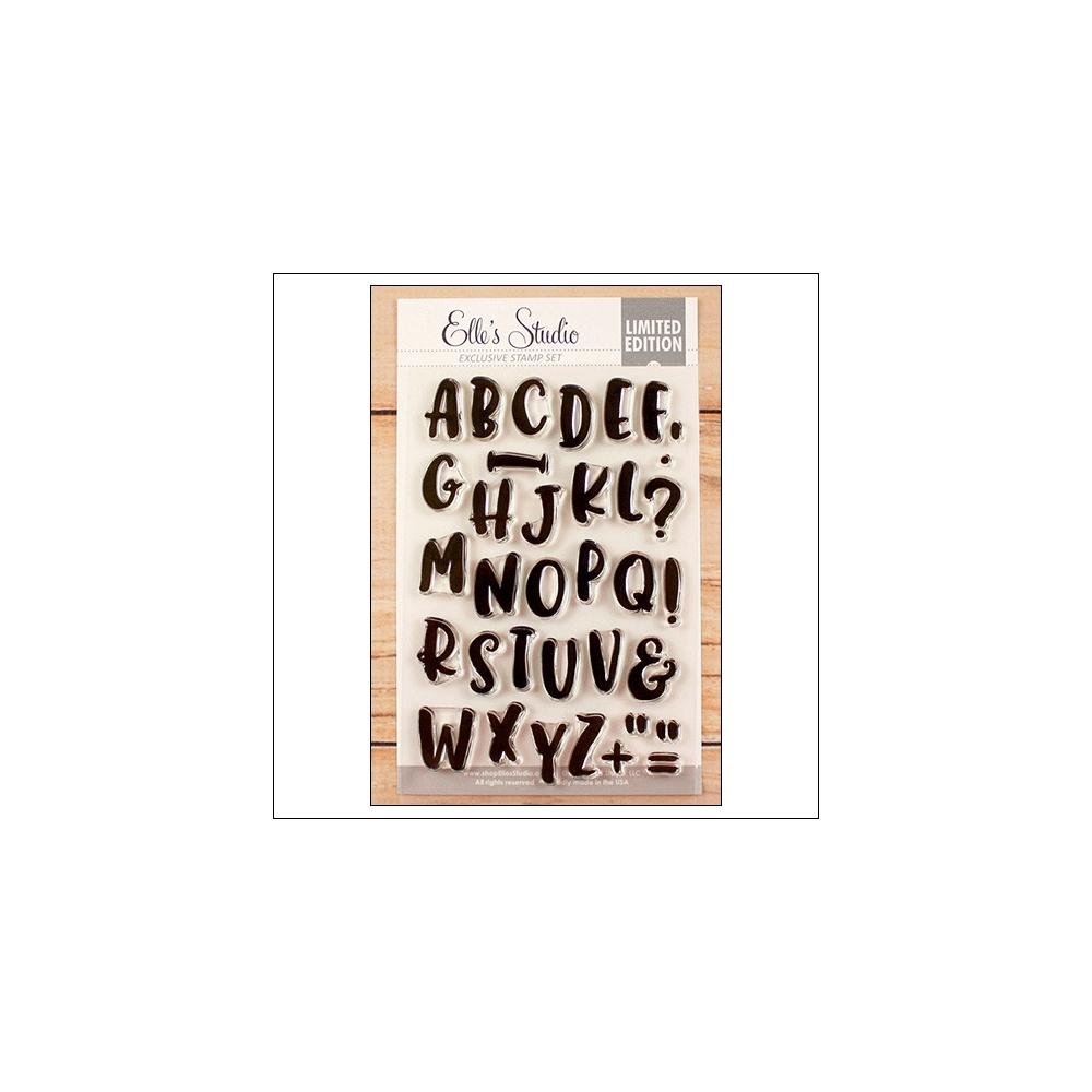 Elles Studio Clear Stamps Marie Alphabet Set